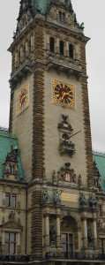 Rathausuhr Hamburg